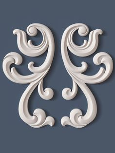 10 decorative scrolls collection model max obj fbx ma mb 7 - Tülin Uncu - Welcome to the World of Decor! Thermocol Craft, Wood Carving Designs, 3d Cnc, Ornaments Design, Scroll Design, Ceiling Design, Wood Art, Wall Art Decor, Design Elements