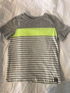 Carter's striped grey shirt Boys 4t #Carters #Everyday