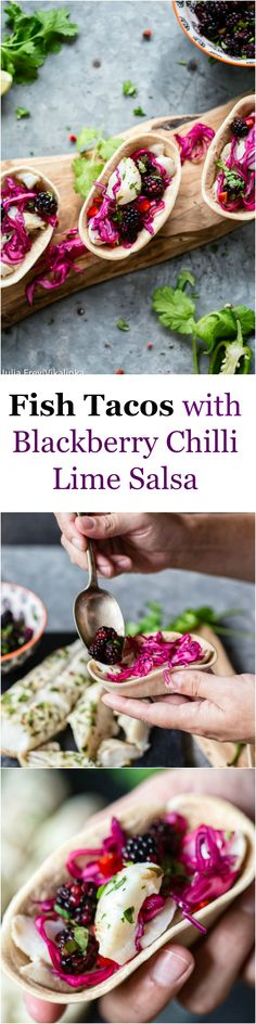 Light on calories but not on the flavour these fish tacos simply burst with freshness!