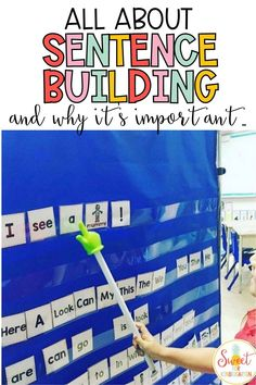 Learning how to build a sentence in kindergarten or first grade? Check out these great tips and idea for teaching your little ones to write great sentences at an early age! First Grade Writing, First Grade Classroom, Teacher Blogs, New Teachers, Help Teaching, Teaching Writing, Kindergarten Writing Activities, Great Sentences, Sentence Strips