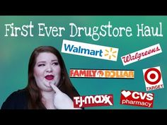 First Ever Drugstore Haul - YouTube