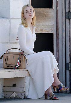 Elle Fanning in Venice Beach [August 17th, 2016]