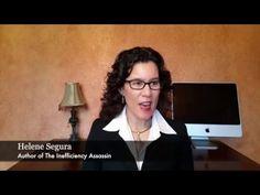 Helene Segura, author of THE INEFFICIENCY ASSASSIN talks about WORKING SMARTER, NOT LONGER > New World Library #WorkSmarter #TimeManagement #BusinessTips