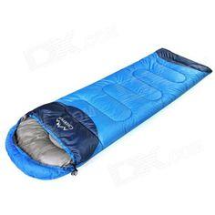Sleeping Bag - Creeper CR-SL-002 Outdoor Envelope Style Camping Hood- Royalblue