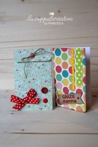 Bellissima card e pocket per la mamma - Francesca