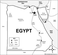 outline of ancient egypt