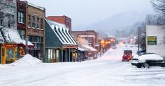 City Portrait: Boone, North Carolina I would love to be there when it looks like this.  What a great place to grow up!