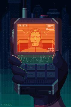 Various Cyberpunk Pixel Art Pixel Art Gif, How To Pixel Art, Pixel Art Games, Arte Cyberpunk, Game Design, Design Art, Piskel Art, Gui Interface, Arte 8 Bits
