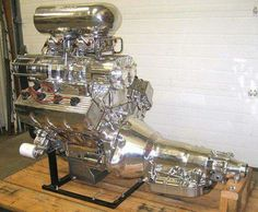 Supercharged 2x4 barrel 426 Hemi