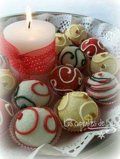 Cake balls de chocolate y vainilla, de Los cupcakes de Luz (ahora MADRID, Bake & Sweet)