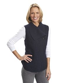 Woolrich Women's Hannah Cable-Knit Wool-Blend Sweater Vest -- Be sure to check out this awesome item.