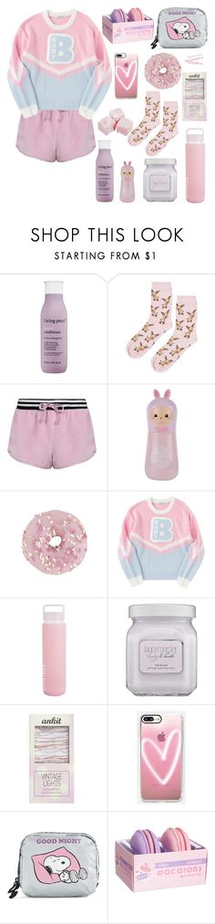 """""""I Cant Adult toDay"""" by taylor1225-1 ❤ liked on Polyvore featuring Living Proof, Topshop, TONYMOLY, Sunnylife, Laura Mercier, Streamline NYC, Casetify, LeSportsac and BOBBY"""