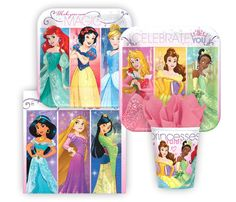 Disney Princess Dream Big Party Pack! Seats 8 - Cups, Napkins, Plates & Cutlery, Party Supplies - Girls Princess Dream Big Party Supplies -- Awesome products selected by Anna Churchill