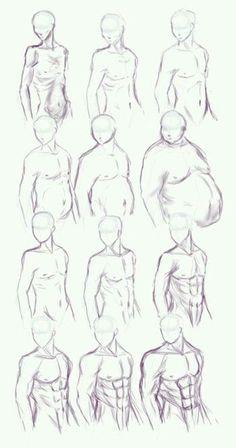 Pencil Portrait Mastery - Verschiedene Anatomie und Umfänge - Discover The Secr. - Pencil Portrait Mastery – Verschiedene Anatomie und Umfänge – Discover The Secrets Of Drawing - Drawing Techniques, Drawing Tips, Drawing Sketches, Pencil Drawings, Sketching, Body Sketches, Drawings Of Men, Drawing Ideas, Sketch Art