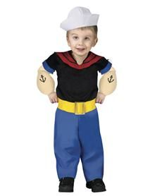 Popeye the Sailor Man Toddler Costume