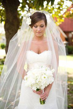 I love the veil