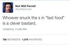 Welp I Ate Fast Food