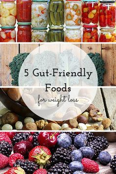 The food you put in your belly has a major impact on your gut health and your diet.