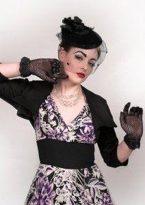 ALISON DRESS & BONNIE BOLERO from 20th Century Foxy in UK #trashydivabalero #trashydivaalisondress