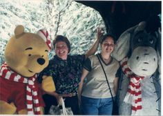 Our next trip was the end of 2000. We took our 2 youngest with us. Pooh & Eyore