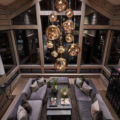 Home Decor, Interior Design Luxury Penthouse, Style Deco, Swedish Design, Luxury Decor, Scandinavian Home, Luxury Living, Decor Interior Design, Future House, Luxury Homes