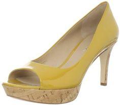 Via Spiga Women's ALEXIS Peep-Toe Pump in Yellow Patent, Black Patent, Tomato, Turqtime Patent, Natural Cork, and Nude Patent.    http://amazon.com/gp/product/B006W45IGE/ref=as_li_ss_tl?ie=UTF8=prodtoguaryou-20=as2=1789=390957=B006W45IGE
