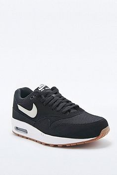 61d496833 Nike Air Max 1 Essential Trainers in Black and White