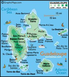 Guadeloupe, French West Indies : Butterfly Island, L'île papillon !