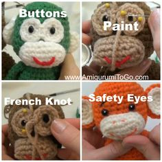 Little Bigfoot Monkey 2014, Here is another pattern that's been revised, improved and now comes with a full video tutorial. Thi...