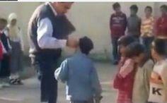 العراق تكافح العنف ضد الاطفال |تحويل مدير مدرسة للتحقيق بسبب فيديو يُظهر فيه يضرب التلاميذ