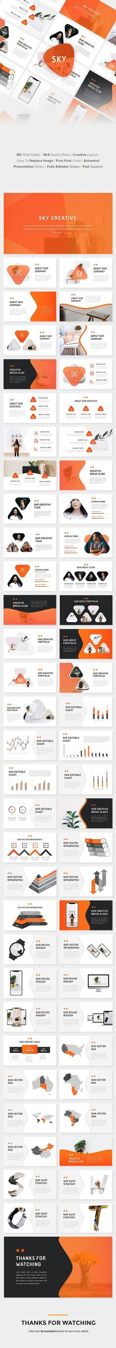 Buy Sky - Business PowerPoint Template by suavedigital on GraphicRiver. Sky – Business PowerPoint Template This presentation slide is created based on professional presentation. Marketing Presentation, Business Presentation Templates, Corporate Presentation, Presentation Design Template, Professional Presentation, Design Templates, Powerpoint Icon, Powerpoint Template Free, Powerpoint Charts
