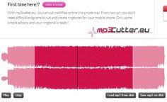 Mp3Cutter es una utilidad web gratuita, y sin necesidad de registro, con la que podemos cortar rápidamente cualquier archivo de audio en formato mp3. Software, First Time, Simple Way, Audio, App, Technology, Teaching Resources, Filing Cabinets, Computer File