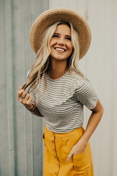 Dolce Stripe Blouse