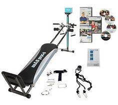Total Gym Platinum Plus W 8 Attachments 4 DVDs LOVE MINE