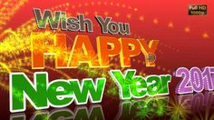 Happy New Year 2017 Wishes,Whatsapp Video,Greetings,Animation,Message,Ec...