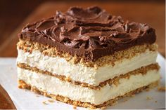 You only need a handful of ingredients to make this No Bake Chocolate Eclair Cake. You'll love the Home Made Chocolate Eclairs and Bee Stings too!