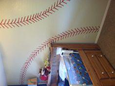 Nolan's baseball room!