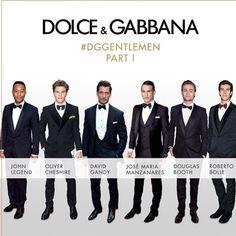 #StefanoGabbana Stefano Gabbana: #DGGENTLEMEN know how to look sharp while attending a glamorous evening. #dolcegabbana #dgmen @Johnlegend @olivercheshire1 @davidgandy_official @jmmanzanares @douglasbooth @robertobolle ❤️❤️❤️#dgfamily