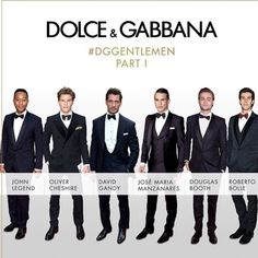 #StefanoGabbana Stefano Gabbana: #DGGENTLEMEN know how to look sharp while attending a glamorous evening. #dolcegabbana #dgmen @Johnlegend @olivercheshire1 @davidgandy_official @jmmanzanares @douglasbooth @robertobolle ❤️❤️❤️#dgfamily