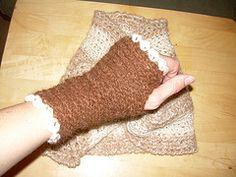 Free Crochet Wrist Warmer Pattern