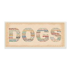 Full of bright colors, this artistic DOGS Rainbow Typography Art Wall Plaque will show your personality throughout your home. This plaque makes the perfect finishing touch to any room. This piece of a