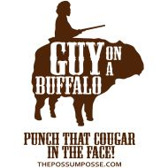 guy on a buffalo - please check it out if you haven't yet! #socool