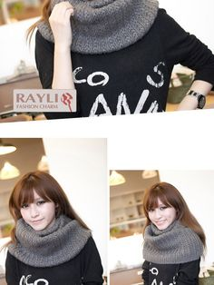 solid color infinity scarf $16 #asianicandy #asianfashion #scarf