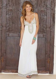 08f4a4a91511 Adelina Lov Posh Adelina Embroidered Maxi Dress for honeymoon