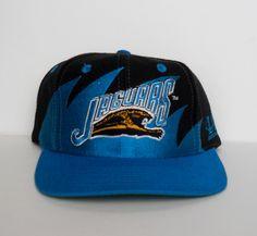 Vintage circa 1994/95 Jacksonville Jaguars Sharktooth Snapback by Logo Athletic (pre-owned, OSFM)