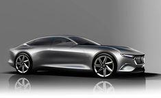 Pininfarina H600 Design Sketch Render