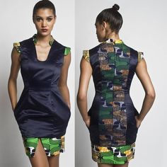 Elegant African Fashion... Check Out Latest Ankara Styles and Dresses >>>  http://www.dezangozone.com/