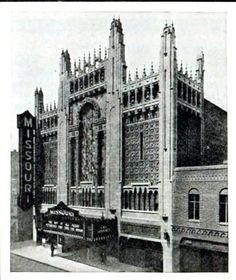 Missouri Theatre, St Joseph, MO in 1929