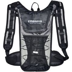 Embrava Sports Hydration Packs 2 Liter Water Insulated Backpack Camping Hiking #Embrava