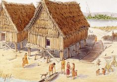 The first humans lived in what is called the Paleolithic Era. It is also known as the Stone Age. These people were hunters and they collected things they found. They moved from place to place in or… Ancient Egypt, Ancient History, European History, Ancient Aliens, Ancient Artifacts, Ancient Greece, American History, Era Paleolítica, Paleolithic Period